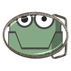 Cartoon Cute Frankenstein Halloween Belt Buckles by Sudhe