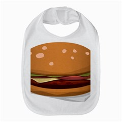 Hamburger Cheeseburger Burger Lunch Bib
