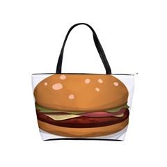 Hamburger Cheeseburger Burger Lunch Classic Shoulder Handbag