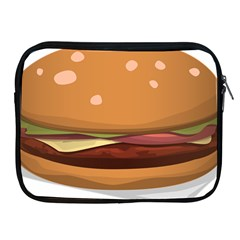 Hamburger Cheeseburger Burger Lunch Apple Ipad 2/3/4 Zipper Cases