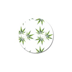 Cannabis Curative Cut Out Drug Golf Ball Marker (10 Pack)