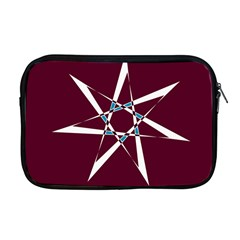 Star Sky Design Decor Red Apple Macbook Pro 17  Zipper Case