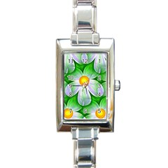 Seamless Repeating Tiling Tileable Rectangle Italian Charm Watch