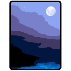 Nature Night Fleece Blanket (large)