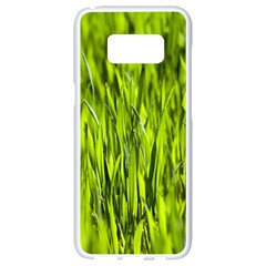 Agricultural Field   Samsung Galaxy S8 White Seamless Case by rsooll