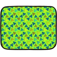 80s 90s Pattern 3 Fleece Blanket (mini) by tarastyle