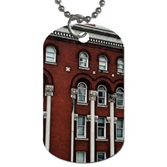 Great Southern Hotel Dog Tag (two Sides) by Riverwoman
