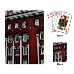 Great Southern Hotel Playing Cards Single Design by Riverwoman