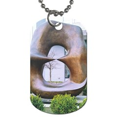 Henry Moore Dog Tag (two Sides) by Riverwoman
