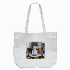 Henry Moore Tote Bag (white) by Riverwoman