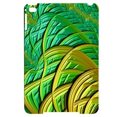 Patterns Green Yellow String Apple Ipad Mini 4 Black Frosting Case