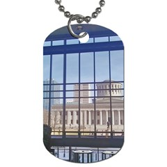 Ohio Statehouse Dog Tag (two Sides) by Riverwoman