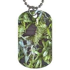 Living Wall Dog Tag (two Sides) by Riverwoman