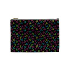 80s 90s Pattern 7 Cosmetic Bag (medium) by tarastyle
