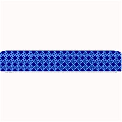 Basket Weave Basket Pattern Blue Small Bar Mats