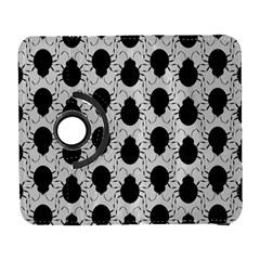 Pattern Beetle Insect Black Grey Samsung Galaxy S  Iii Flip 360 Case