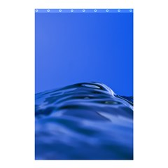 Wave Macro Water Surface Shower Curtain 48  X 72  (small)