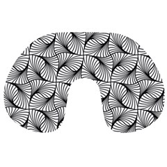 Abstract Seamless Pattern Travel Neck Pillows by Pakrebo