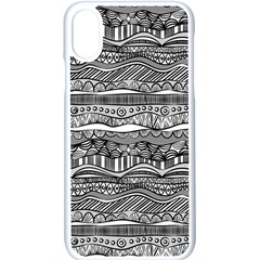 Ethno Seamless Pattern Iphone Xs Seamless Case (white)