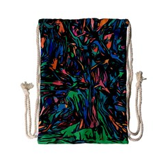 Tree Forest Abstract Forrest Drawstring Bag (small)