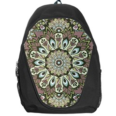 Seamless Pattern Abstract Mandala Backpack Bag by Pakrebo