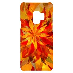 Flower Blossom Red Orange Abstract Galaxy S9 by Pakrebo