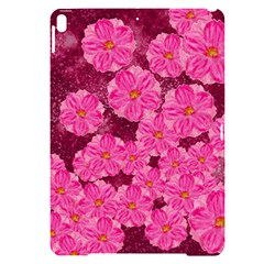 Cherry Blossoms Floral Design Apple Ipad Pro 10 5   Black Frosting Case