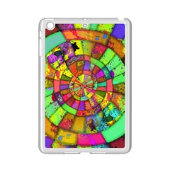 Color Abstract Rings Circle Center Ipad Mini 2 Enamel Coated Cases