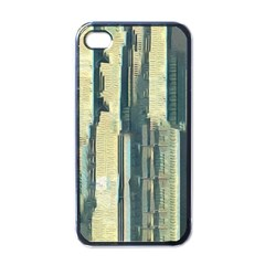 Illustrations Texture Abstract Buildings Iphone 4 Case (black)