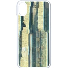 Illustrations Texture Abstract Buildings Iphone Xs Seamless Case (white)