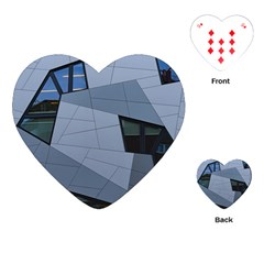 Abstract Modern Pattern Design Playing Cards (heart)