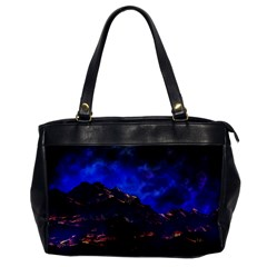 Landscape Sci Fi Alien World Oversize Office Handbag