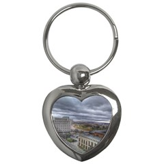 Ohio Supreme Court View Key Chains (heart)  by Riverwoman