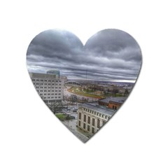 Ohio Supreme Court View Heart Magnet by Riverwoman