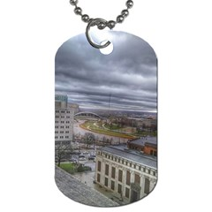 Ohio Supreme Court View Dog Tag (two Sides) by Riverwoman