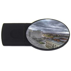 Ohio Supreme Court View Usb Flash Drive Oval (4 Gb) by Riverwoman