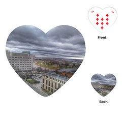 Ohio Supreme Court View Playing Cards (heart) by Riverwoman