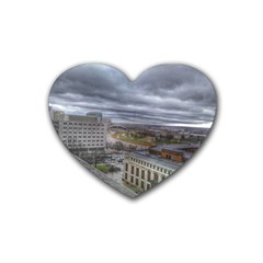 Ohio Supreme Court View Heart Coaster (4 Pack)  by Riverwoman