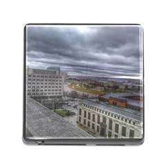 Ohio Supreme Court View Memory Card Reader (square 5 Slot) by Riverwoman