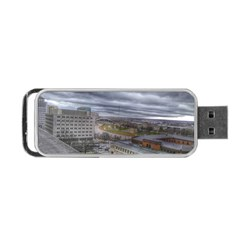 Ohio Supreme Court View Portable Usb Flash (one Side) by Riverwoman