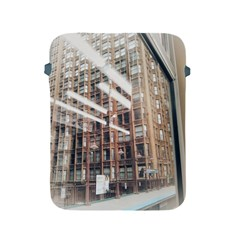 Chicago L Morning Commute Apple Ipad 2/3/4 Protective Soft Cases by Riverwoman