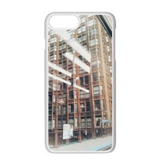 Chicago L Morning Commute Iphone 7 Plus Seamless Case (white) by Riverwoman