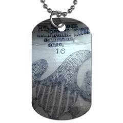 1840s Ohio Salt Glaze Dog Tag (two Sides) by Riverwoman