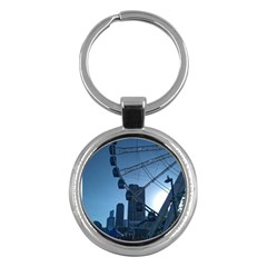 Navy Pier Chicago Key Chains (round)