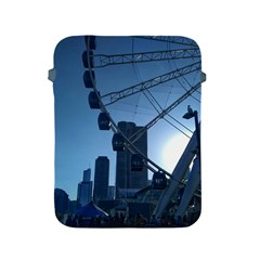 Navy Pier Chicago Apple Ipad 2/3/4 Protective Soft Cases by Riverwoman