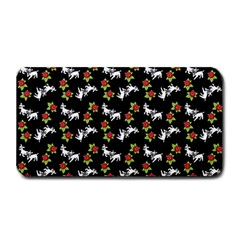 Lamb Pattern Black Medium Bar Mats by snowwhitegirl
