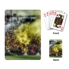 Columbus Crew Crowd, Mapfe Stadium Playing Cards Single Design by Riverwoman