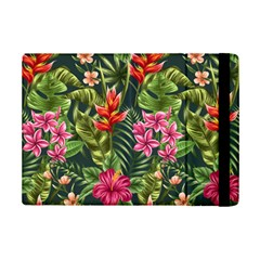 Tropical Flowers Paint Ipad Mini 2 Flip Cases by goljakoff