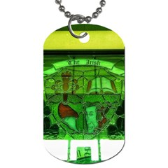 Dublin Scioto Irish Window Dog Tag (two Sides) by Riverwoman
