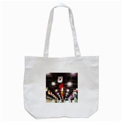 Flags Of Dublin Scioto Tote Bag (white) by Riverwoman